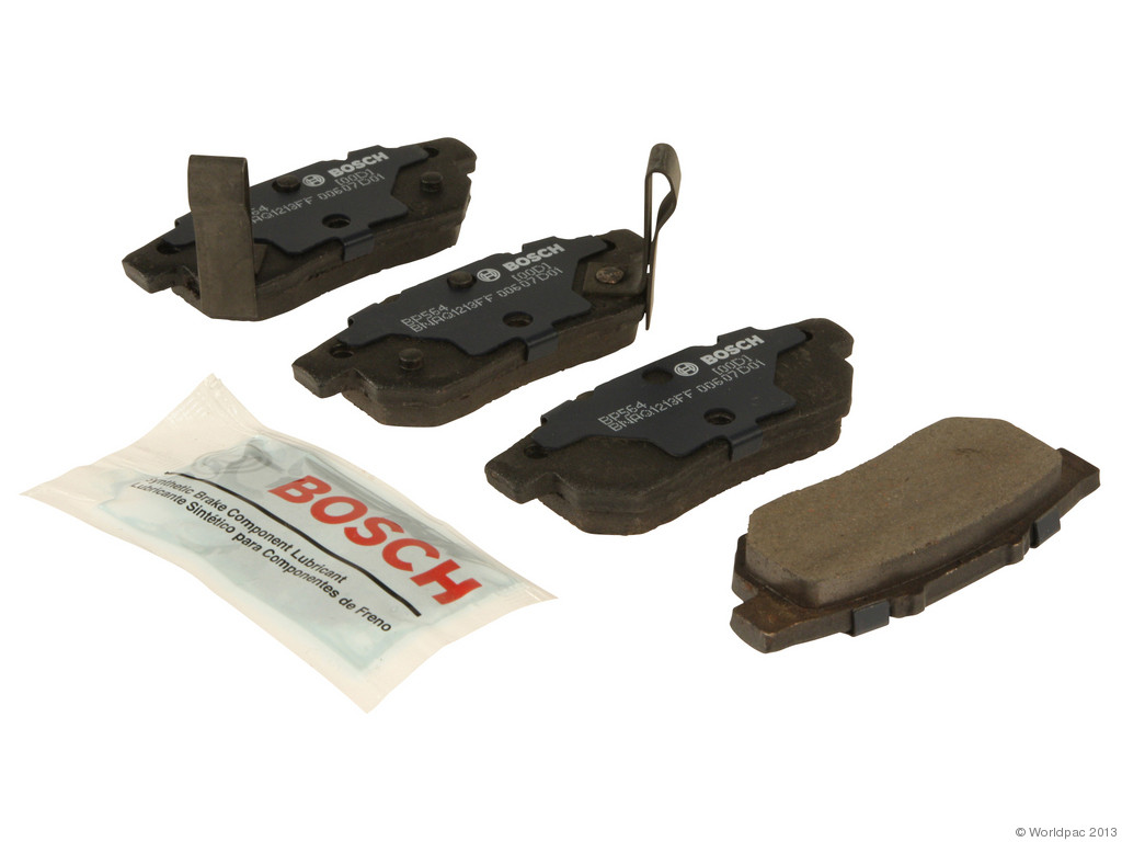 FBS - Bosch QuietCast Premium Brake Pad Set With Shims MST (Rear) - B2C W0133-1957442-BOS