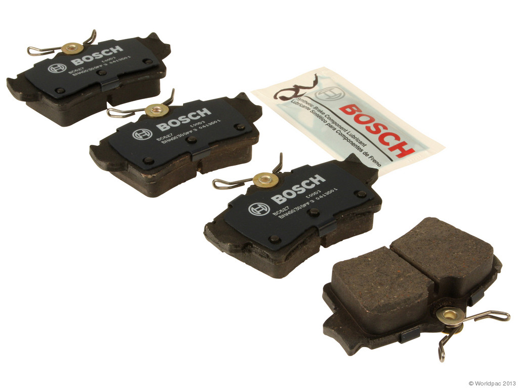 FBS - Bosch QuietCast Ceramic Brake Pad Set With Shims MST (Rear) - B2C W0133-1957443-BOS