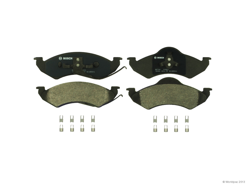 FBS - Bosch QuietCast Premium Brake Pad Set With Shims MST (Front) - B2C W0133-1957444-BOS