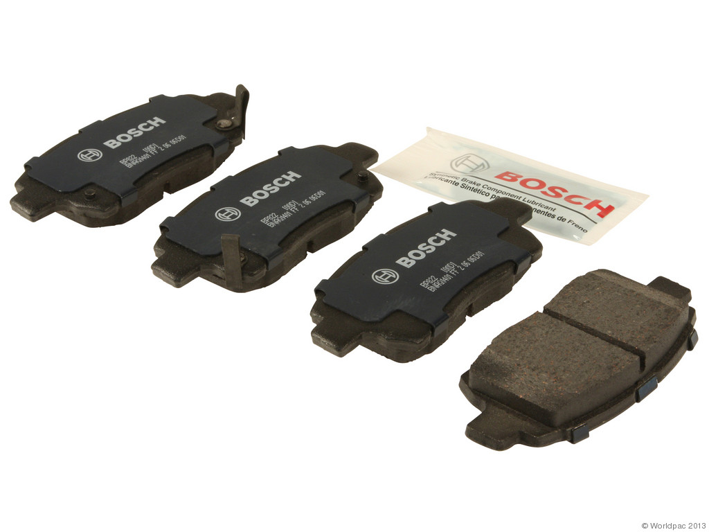 FBS - Bosch QuietCast Premium Brake Pad Set With Shims MST (Front) - B2C W0133-1957665-BOS