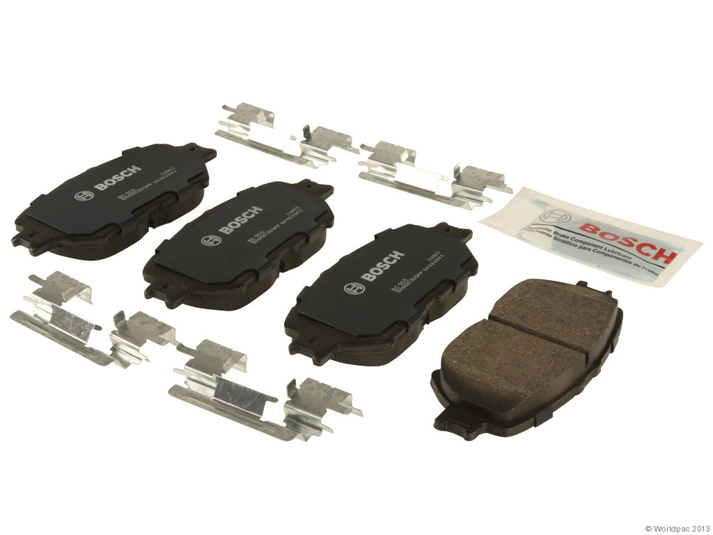 FBS - Bosch Quiet Cast Ceramic w/Hardware Brake Pad Set and Shims (Front) - B2C W0133-1957676-BOS