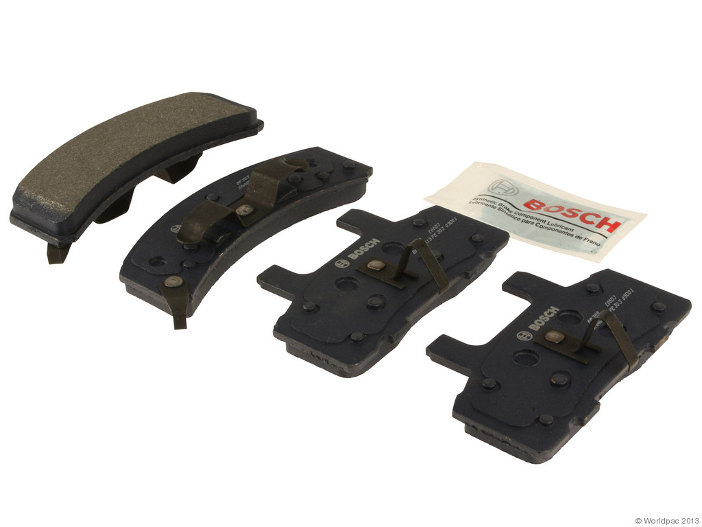 FBS - Bosch QuietCast Premium Brake Pad Set With Shims MST (Front) - B2C W0133-1957830-BOS