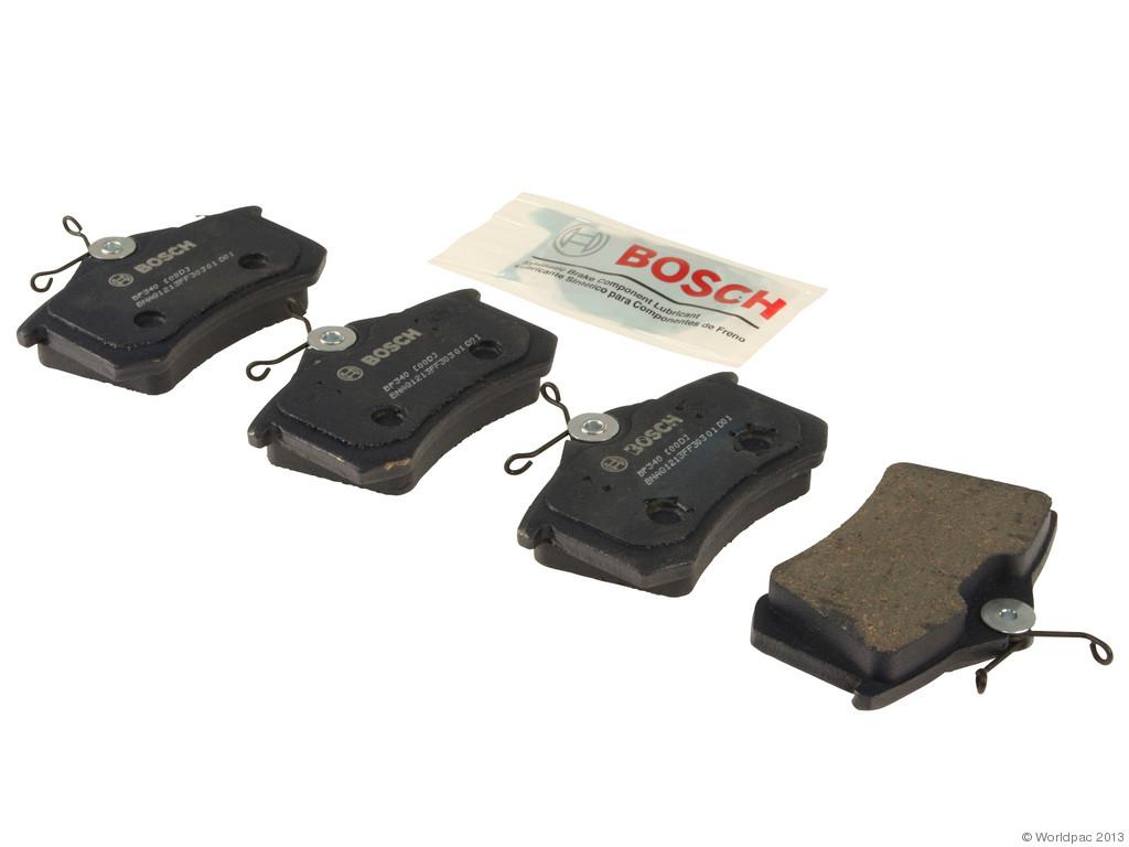 FBS - Bosch QuietCast Premium Brake Pad Set w/ Shims (Rear) - B2C W0133-1957835-BOS