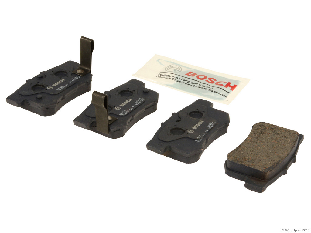 FBS - Bosch Quiet Cast Premium w/Hardware Brake Pad Set and Shims (Rear) - B2C W0133-1957838-BOS