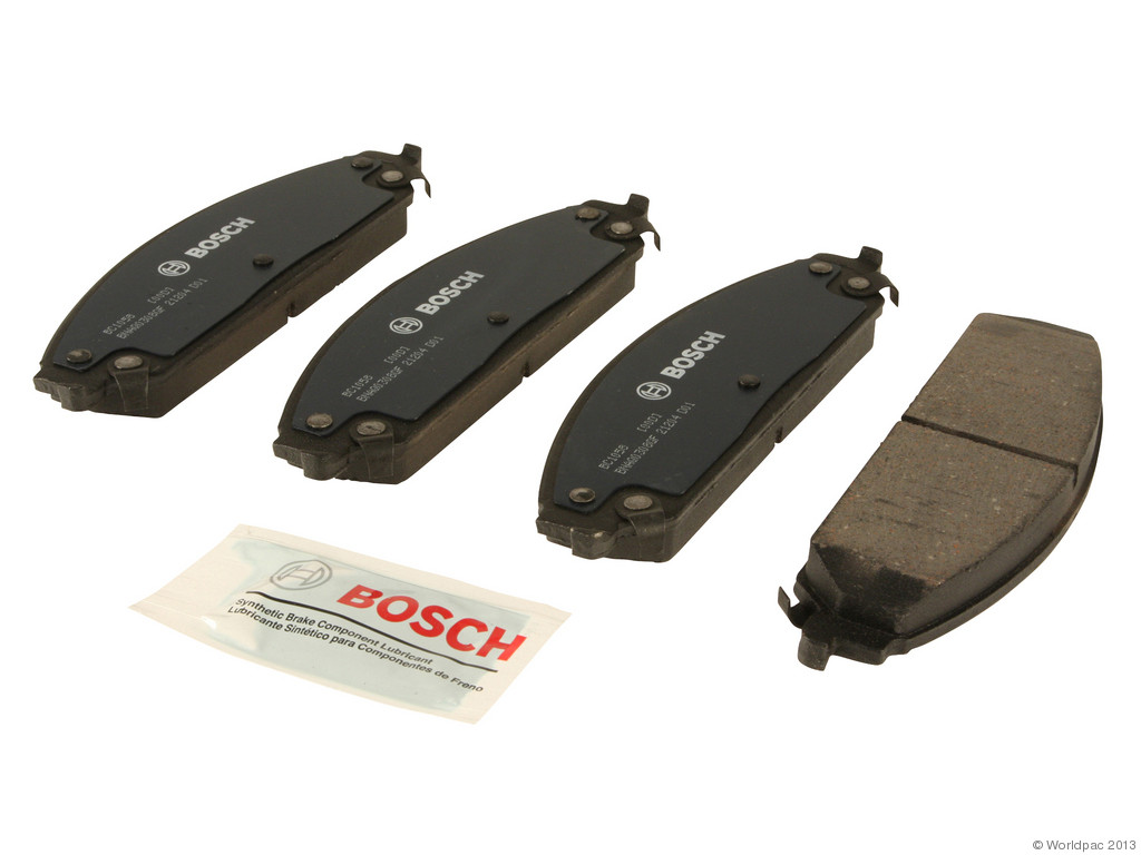 FBS - Bosch QuietCast Ceramic Brake Pad Set With Shims MST (Front) - B2C W0133-1957839-BOS