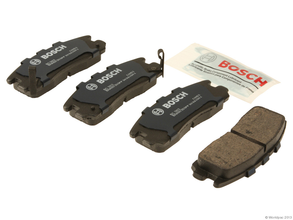 FBS - Bosch QuietCast Ceramic Brake Pad Set With Shims MST (Rear) - B2C W0133-1957842-BOS