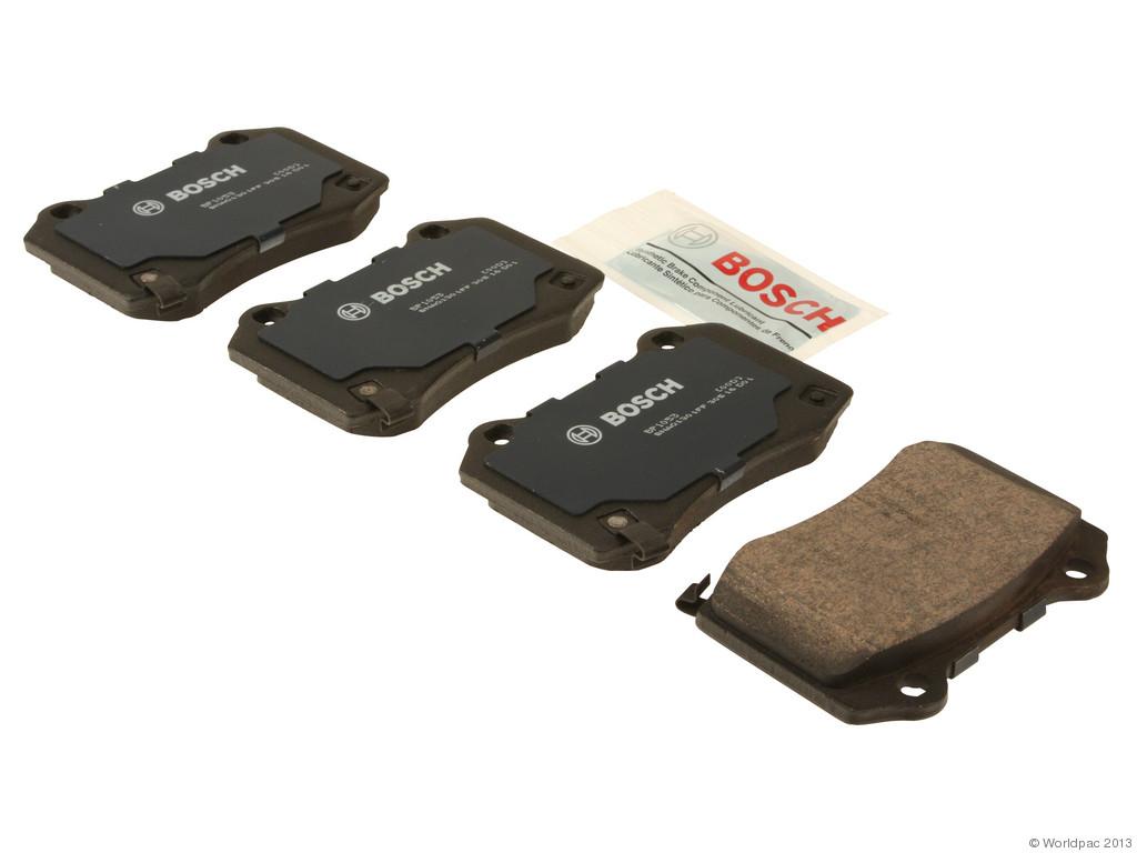 Bosch -  Quiet Cast Premium w/Hardware Brake Pad Set and Shims (Rear) - B2C W0133-1957854-BOS