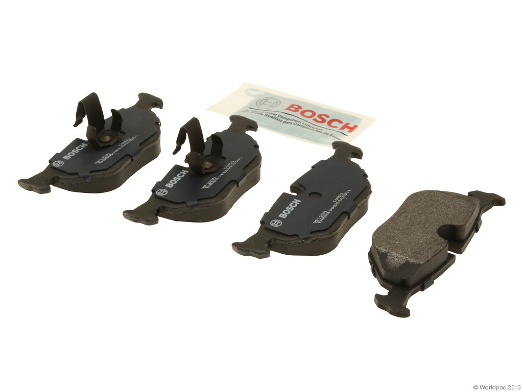 FBS - Bosch QuietCast Premium Brake Pad Set With Shims MST (Rear) - B2C W0133-1957886-BOS