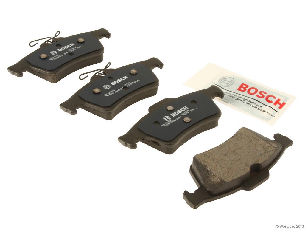 FBS - Bosch QuietCast Premium Brake Pad Set w/Wire Spring Clip (Rear) - B2C W0133-1957926-BOS