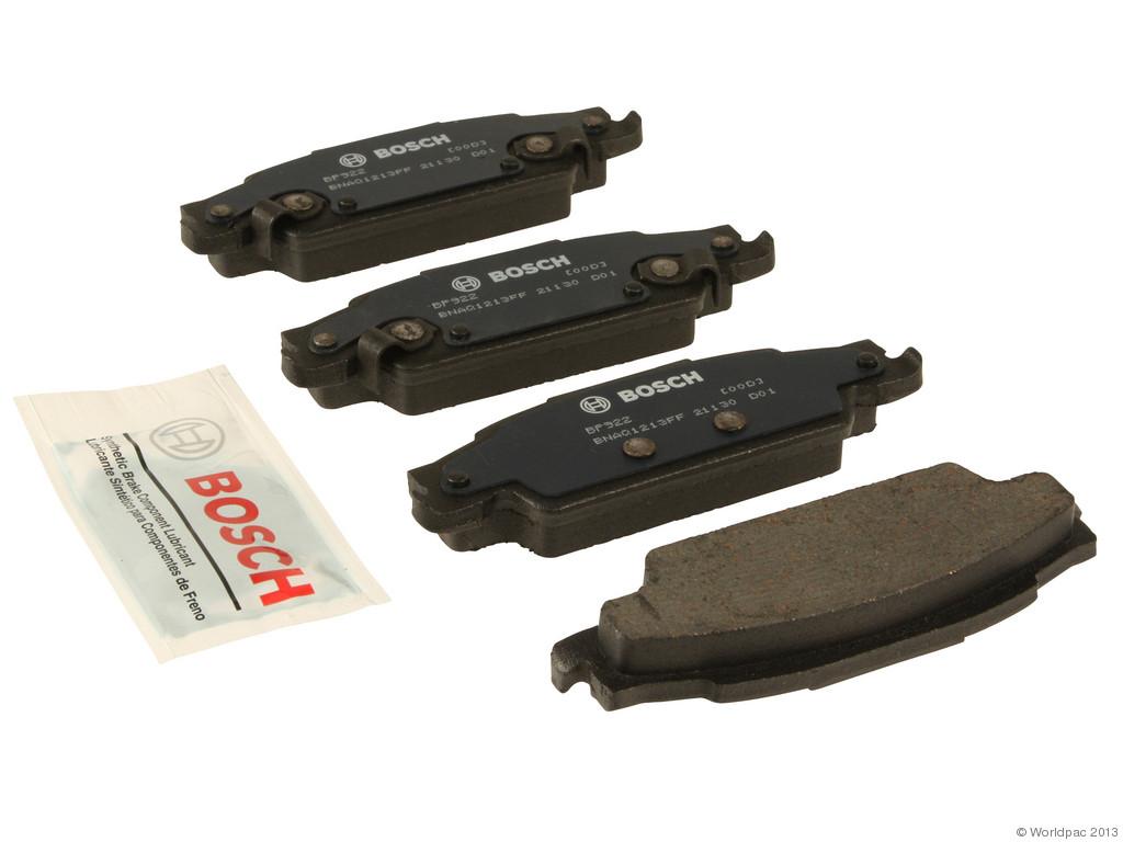 Bosch -  QuietCast Premium Brake Pad Set w/ Shims (Rear) - B2C W0133-1957955-BOS