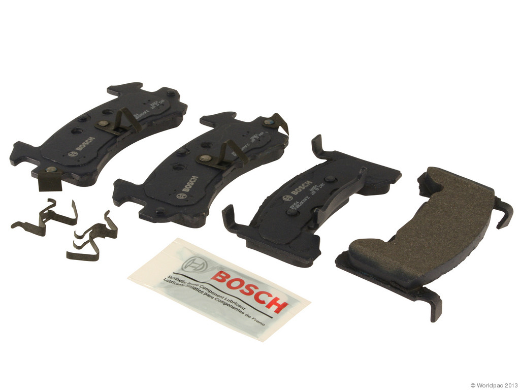 FBS - Bosch QuietCast Premium Brake Pad Set With Shims MST (Front) - B2C W0133-1958225-BOS