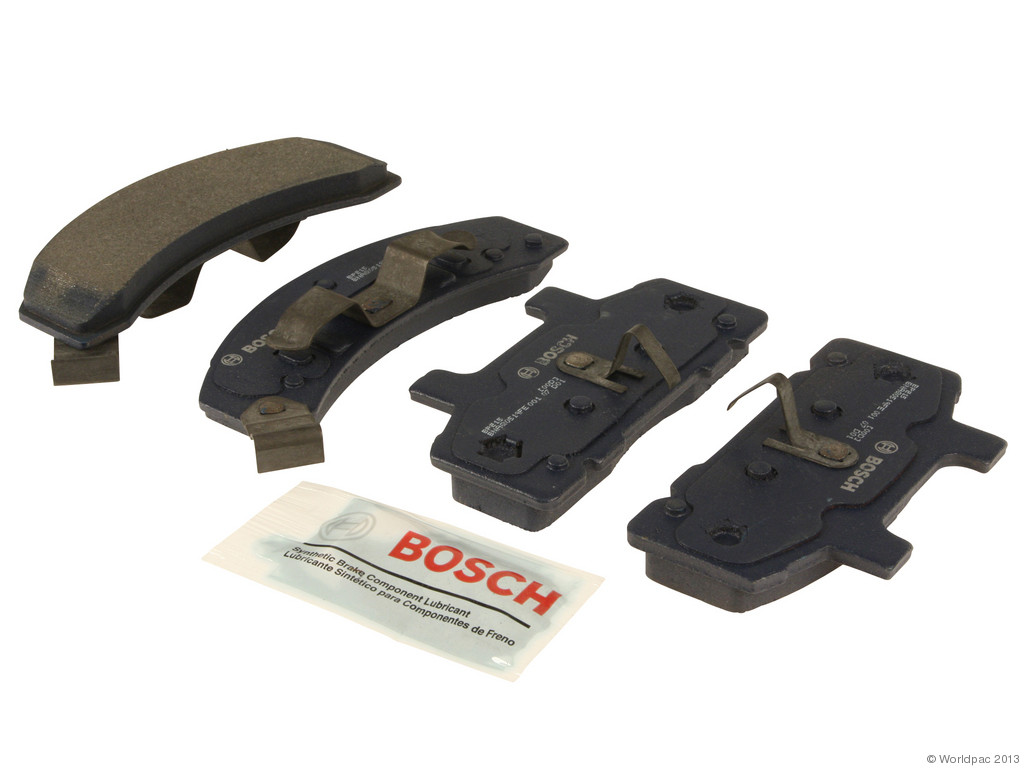 FBS - Bosch QuietCast Premium Brake Pad Set With Shims MST (Front) - B2C W0133-1958228-BOS