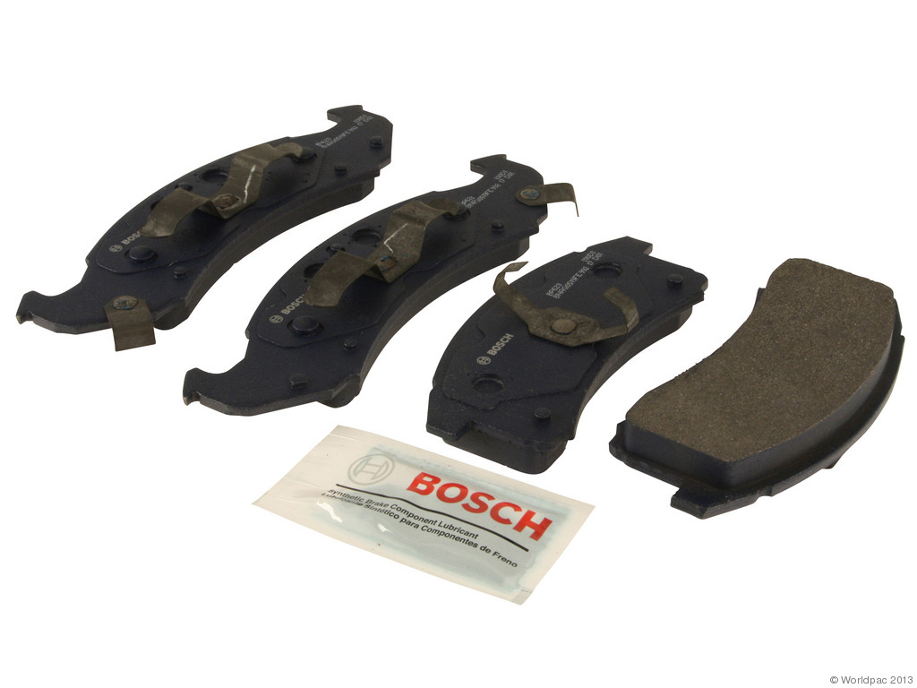 FBS - Bosch QuietCast Premium Brake Pad Set With Shims MST (Front) - B2C W0133-1958232-BOS