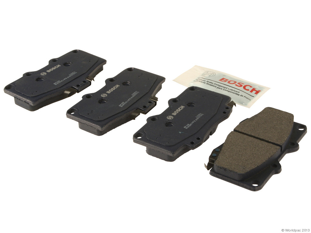 FBS - Bosch QuietCast Premium Brake Pad Set With Shims MST (Front) - B2C W0133-1958241-BOS
