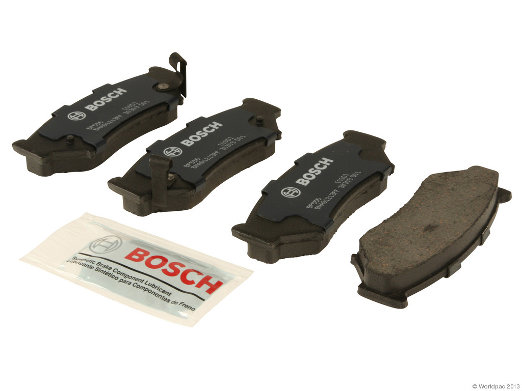 FBS - Bosch QuietCast Premium Brake Pad Set With Shims MST (Front) - B2C W0133-1958258-BOS
