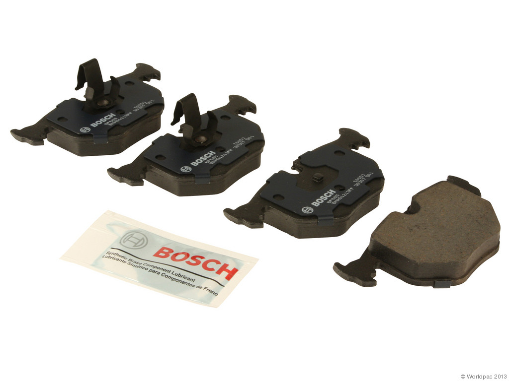 FBS - Bosch QuietCast Premium Brake Pad Set With Shims MST (Rear) - B2C W0133-1958317-BOS