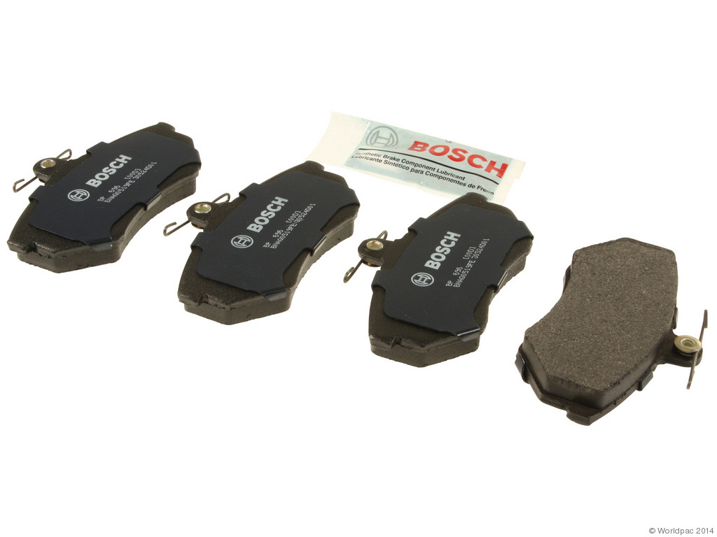 Bosch -  Quiet Cast Premium w/Hardware Brake Pad Set and Shims (Front) - B2C W0133-1958318-BOS