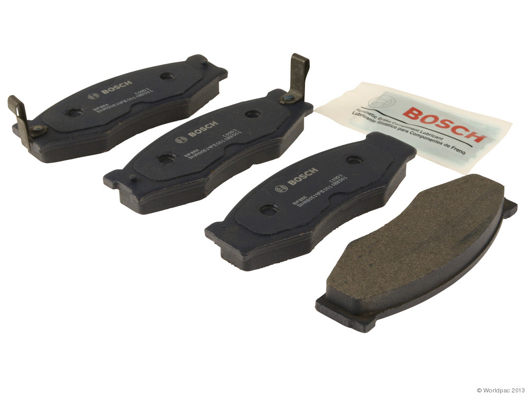 FBS - Bosch QuietCast Premium Brake Pad Set With Shims MST (Front) - B2C W0133-1958321-BOS