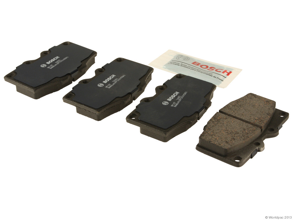 FBS - Bosch QuietCast Premium Brake Pad Set With Shims MST (Front) - B2C W0133-1958325-BOS
