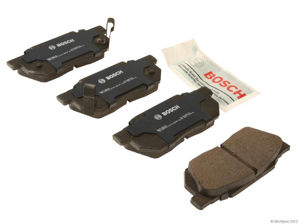 Bosch -  QuietCast Premium Brake Pad Set w/ Shims (Front) - B2C W0133-1958363-BOS