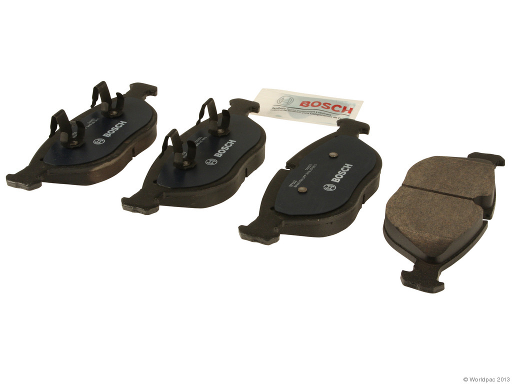 FBS - Bosch QuietCast Premium Brake Pad Set w/ Shims - B2C W0133-1958380-BOS