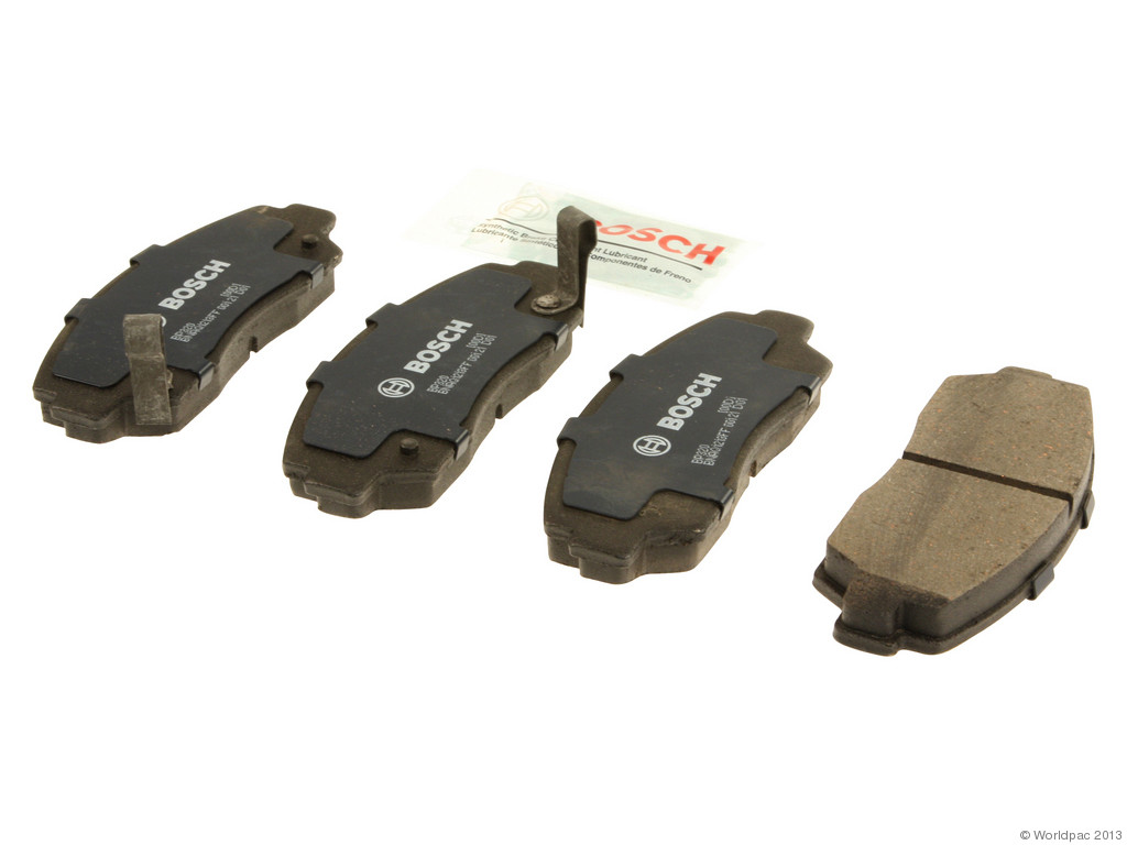 FBS - Bosch Quiet Cast Premium w/Hardware Brake Pad Set and Shims (Front) - B2C W0133-1958385-BOS