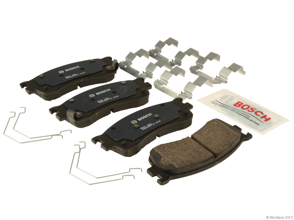 FBS - Bosch QuietCast Premium Brake Pad Set With Shims MST (Front) - B2C W0133-1958399-BOS