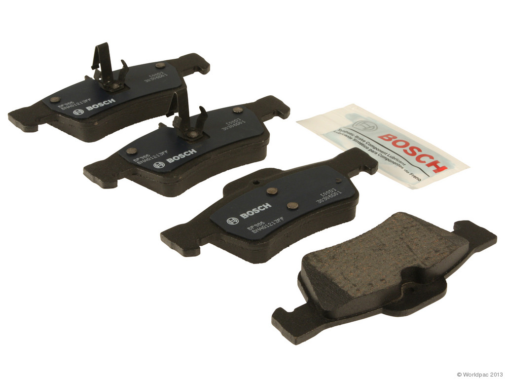 FBS - Bosch QuietCast Premium Brake Pad Set With Shims MST (Rear) - B2C W0133-1958432-BOS