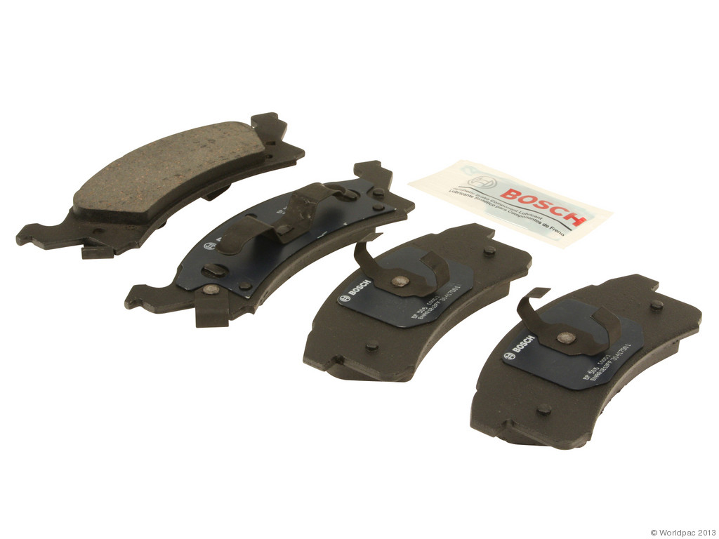 FBS - Bosch QuietCast Premium Brake Pad Set With Shims MST (Front) - B2C W0133-1958454-BOS
