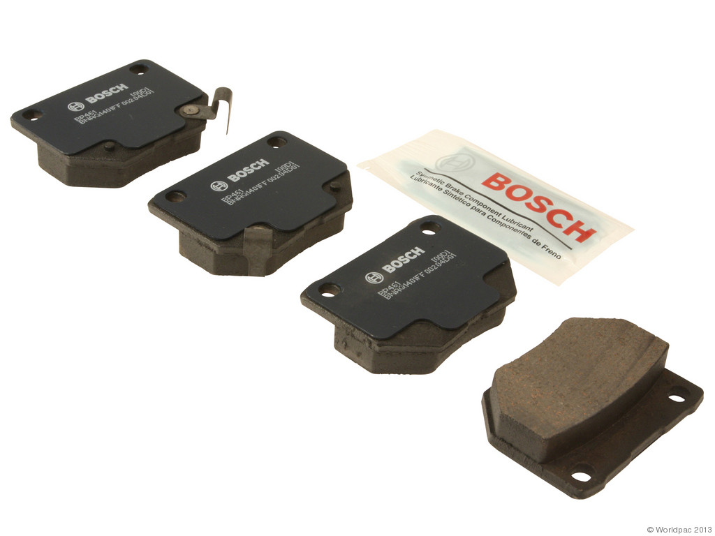 FBS - Bosch QuietCast Premium Brake Pad Set With Shims MST (Rear) - B2C W0133-1958494-BOS