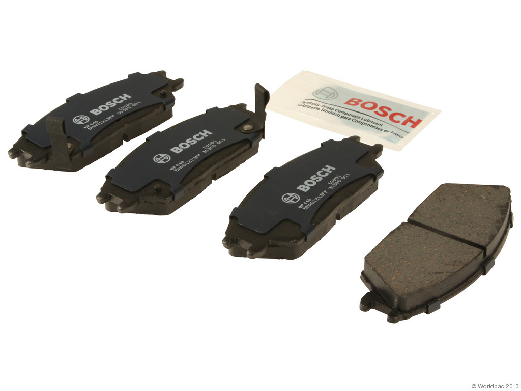 FBS - Bosch QuietCast Premium Brake Pad Set With Shims MST (Front) - B2C W0133-1958545-BOS