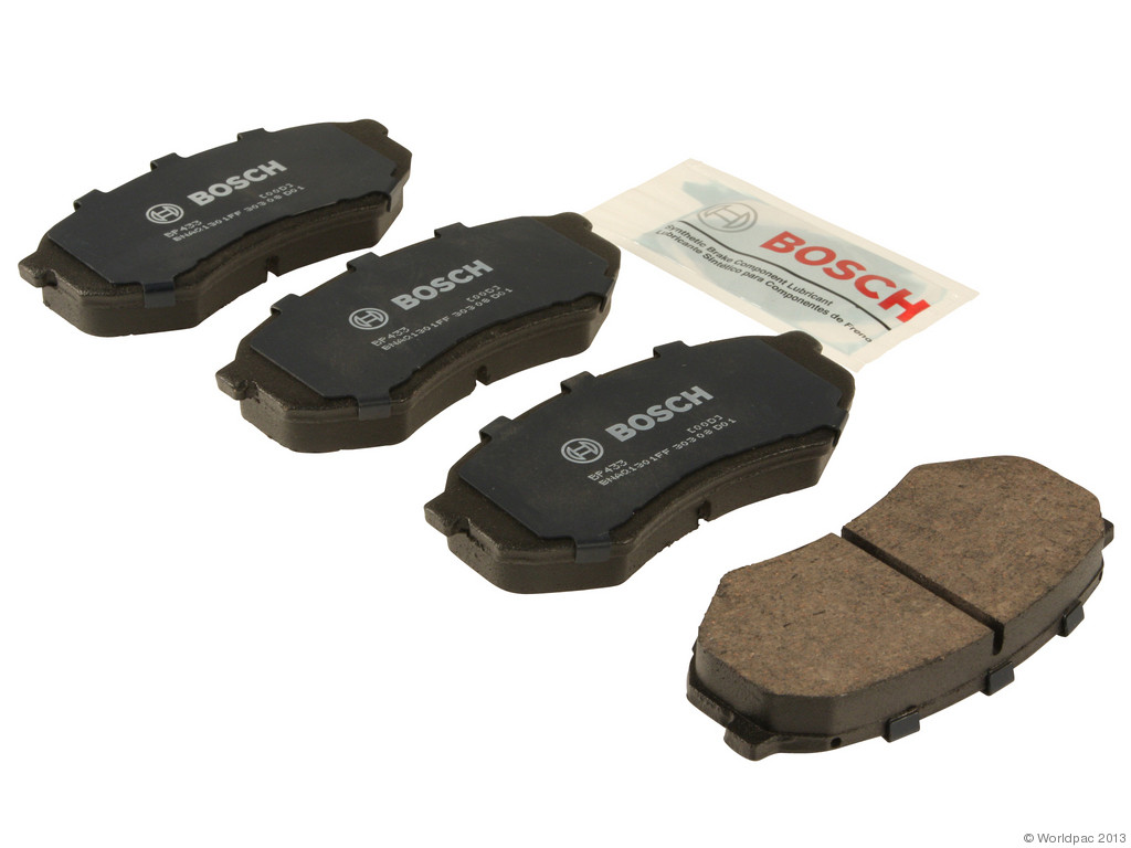 FBS - Bosch QuietCast Premium Brake Pad Set With Shims MST (Front) - B2C W0133-1958579-BOS