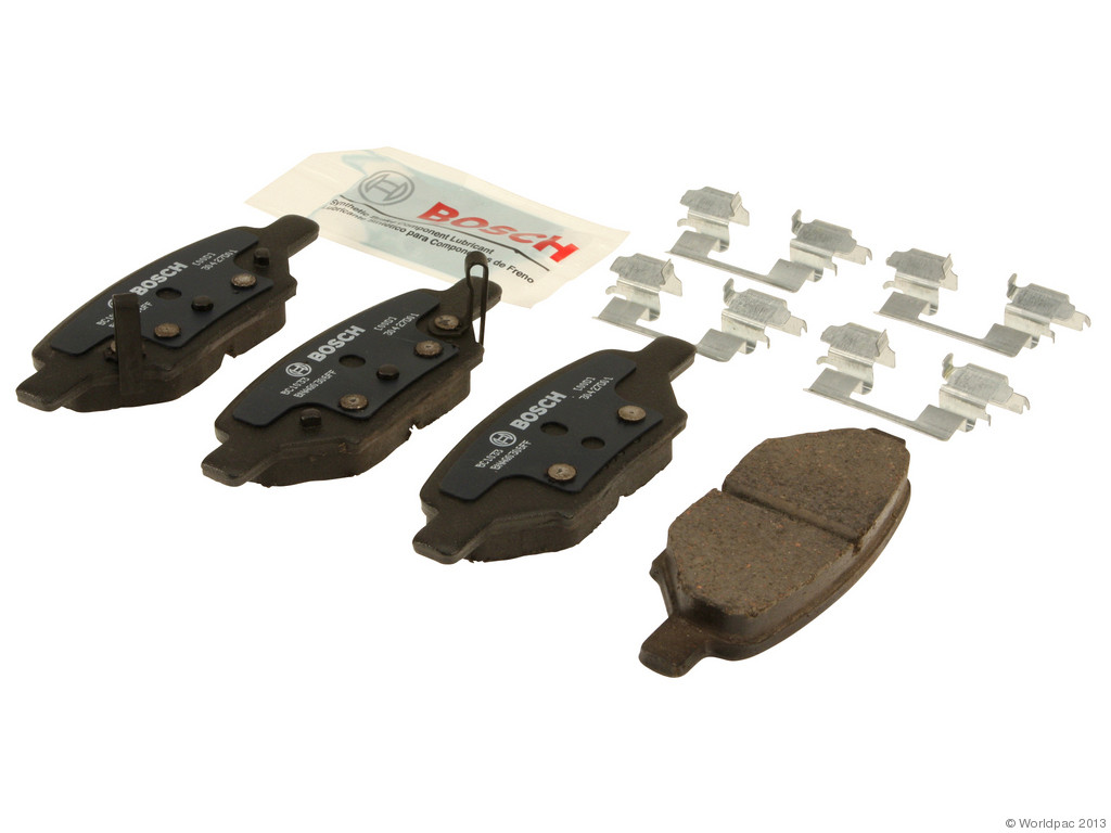 FBS - Bosch QuietCast Ceramic Brake Pad Set With Shims MST (Rear) - B2C W0133-1958590-BOS