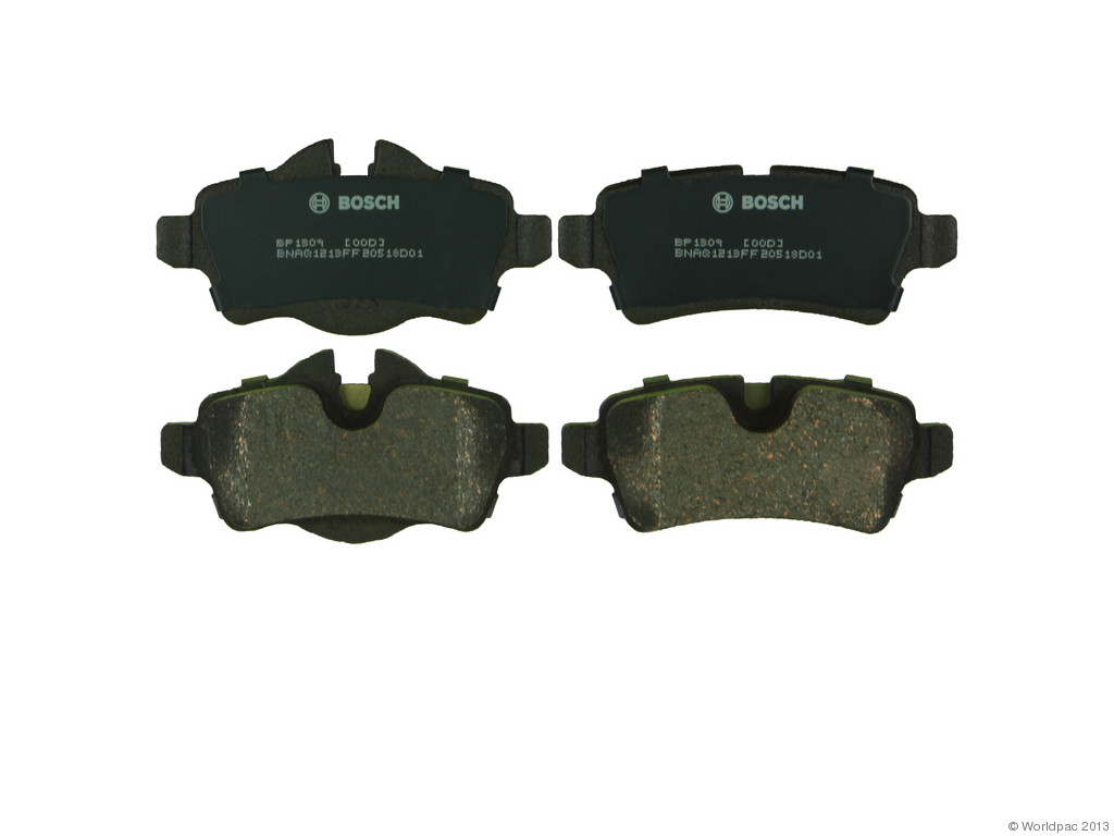 FBS - Bosch QuietCast Premium Brake Pad Set With Shims MST (Rear) - B2C W0133-1958643-BOS