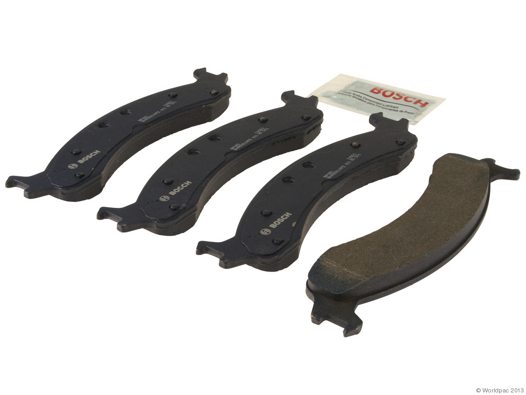 FBS - Bosch Quiet Cast Premium w/Hardware Brake Pad Set and Shims (Front) - B2C W0133-1958648-BOS