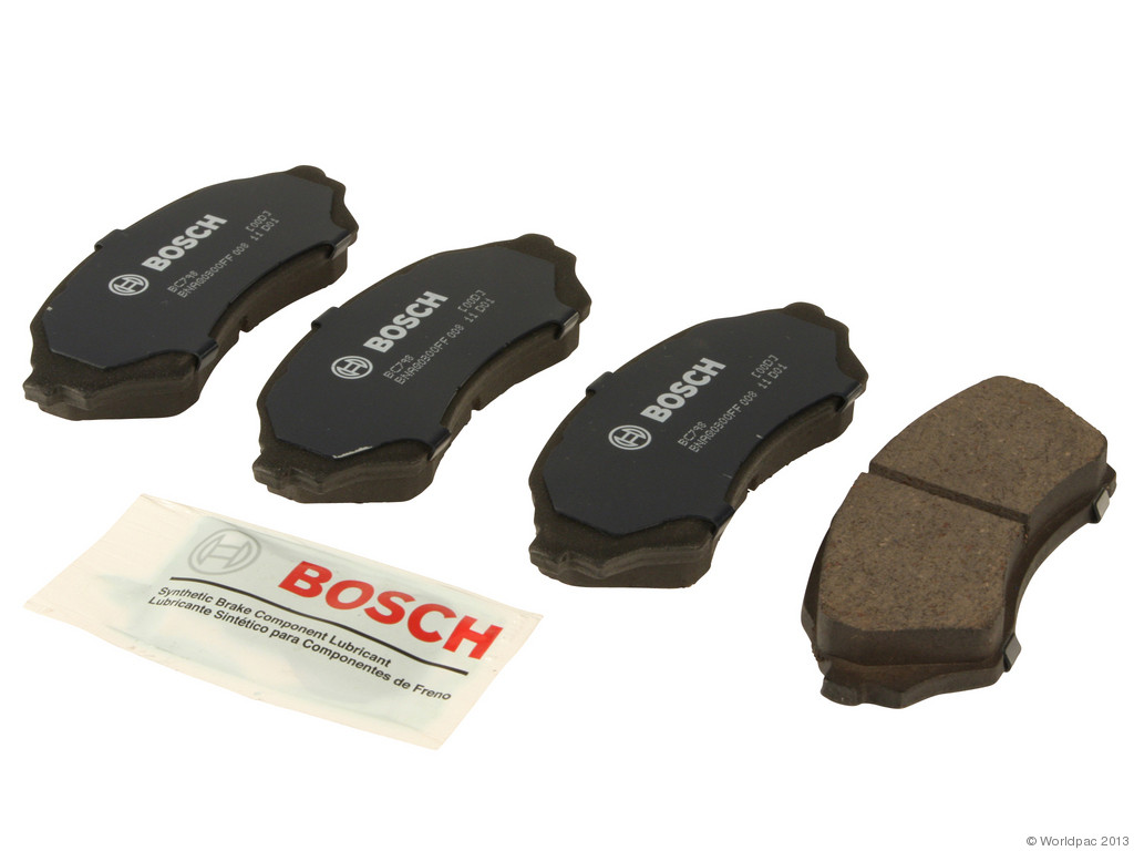 FBS - Bosch QuietCast Ceramic Brake Pad Set With Shims MST (Front) - B2C W0133-1958668-BOS