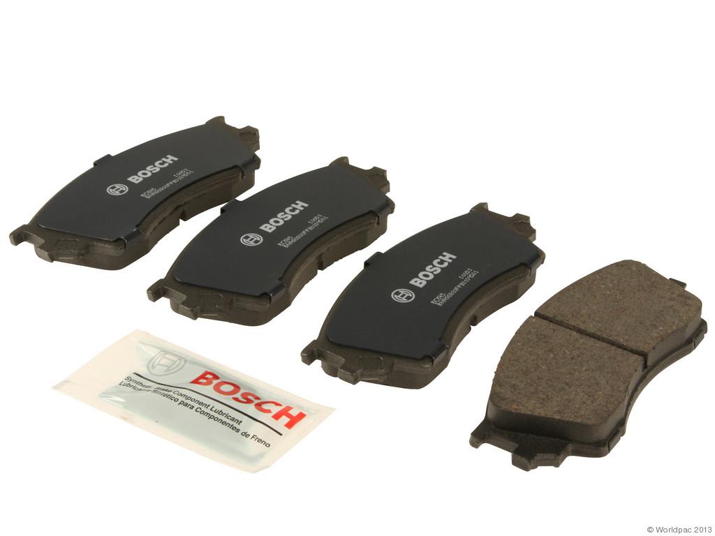 Bosch -  QuietCast Ceramic Brake Pad Set w/ Shims (Front) - B2C W0133-1958680-BOS