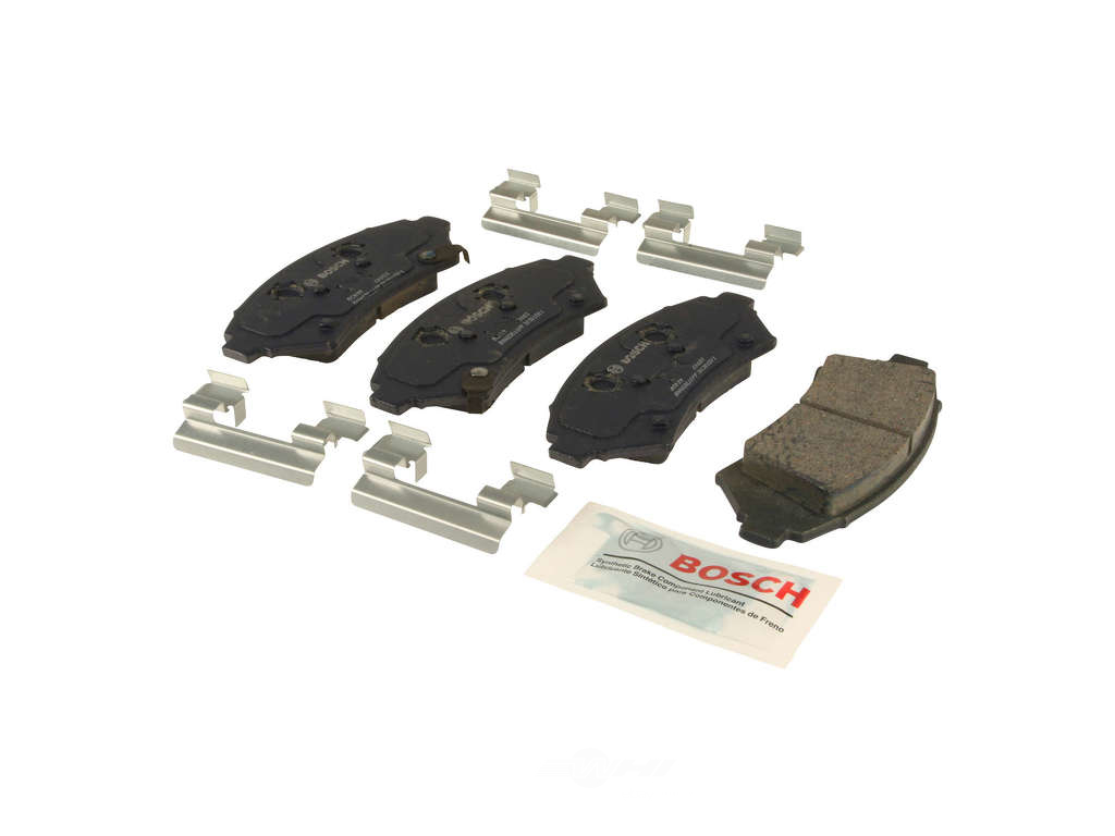 FBS - Bosch QuietCast Ceramic Brake Pad Set With Shims MST (Front) - B2C W0133-1958691-BOS