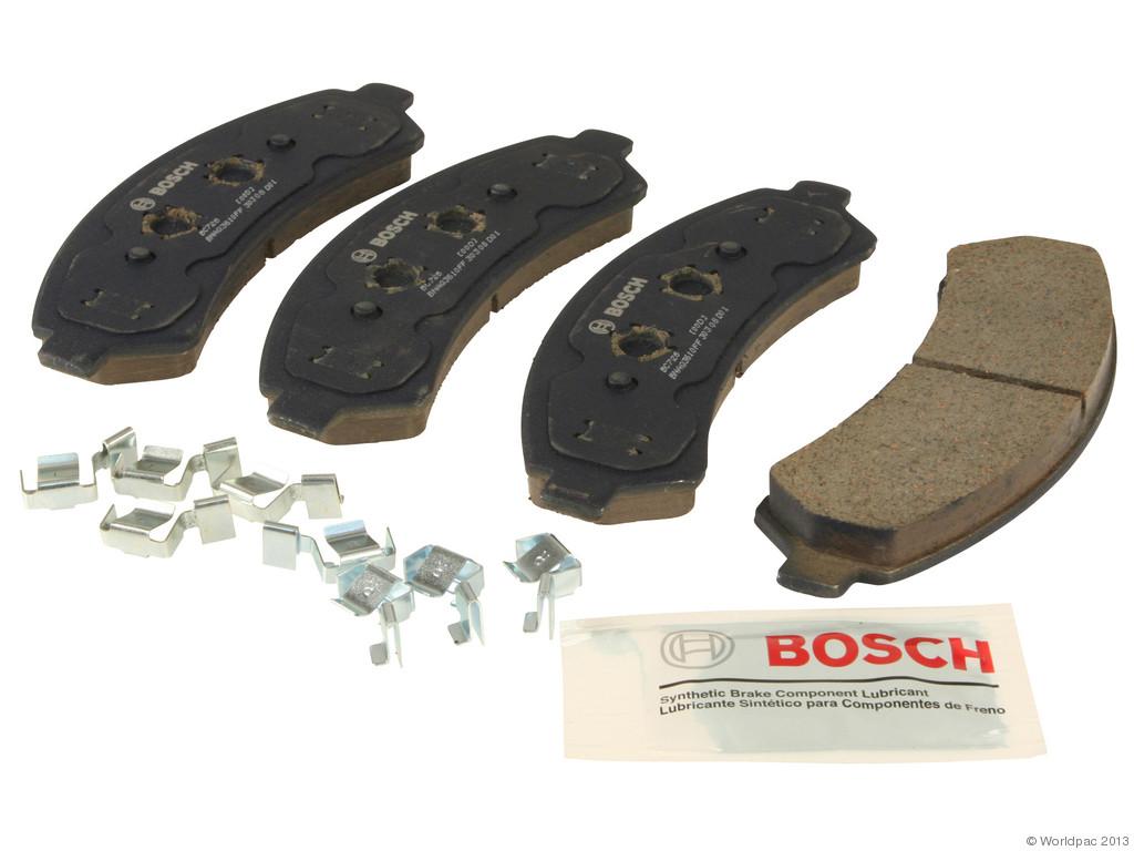 FBS - Bosch QuietCast Ceramic Brake Pad Set w/ Shims (Front) - B2C W0133-1958692-BOS