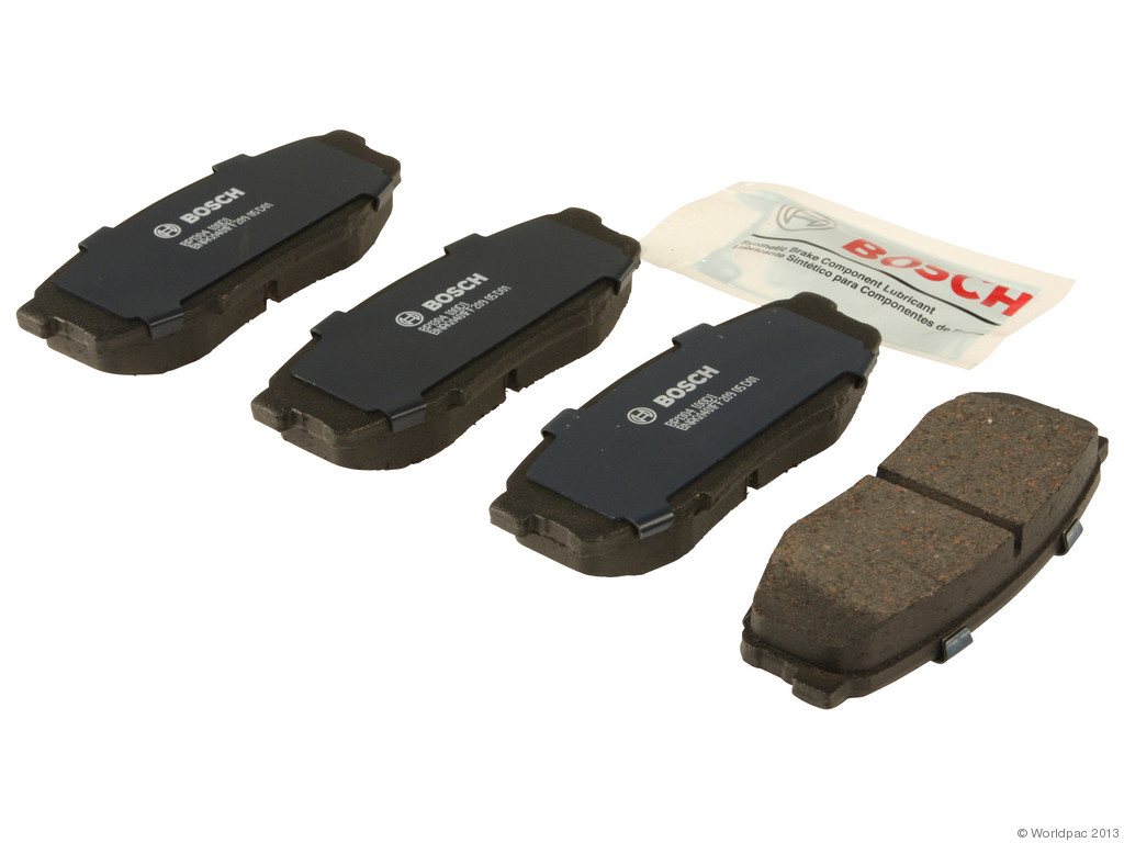 FBS - Bosch QuietCast Premium Brake Pad Set w/ Shims (Rear) - B2C W0133-1958793-BOS