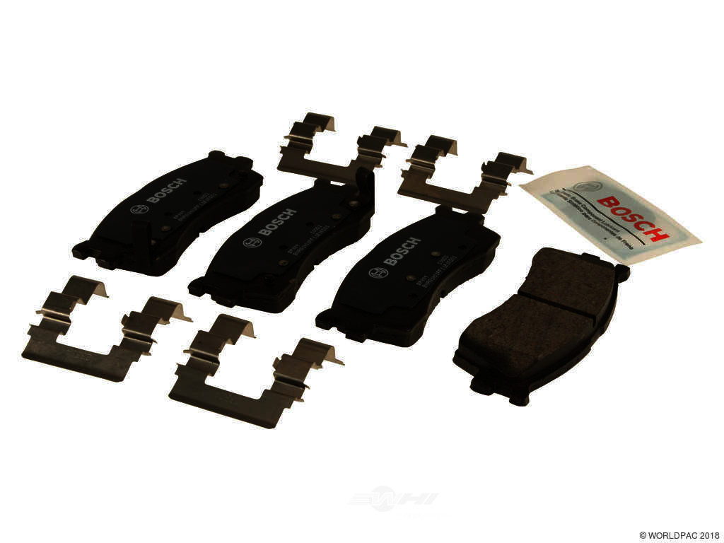 FBS - Bosch QuietCast Premium Brake Pad Set With Shims MST (Front) - B2C W0133-1958878-BOS