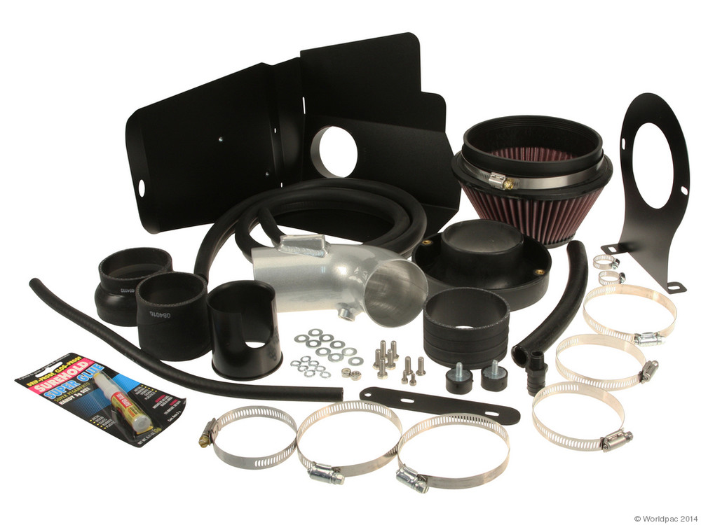 FBS - K&N 69 Series CA Cold Air Intake Air Intake Kit Typhoon / Silver - B2C W0133-1960703-KN