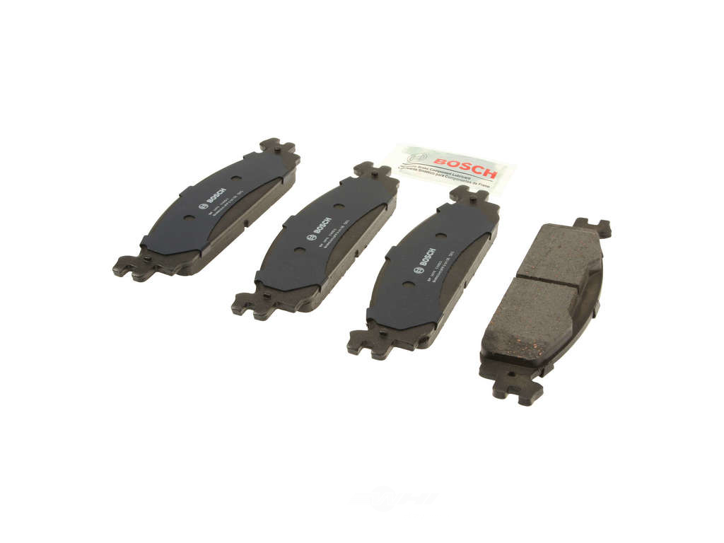 FBS - Bosch QuietCast Premium Brake Pad Set With Shims MST (Front) - B2C W0133-1964538-BOS