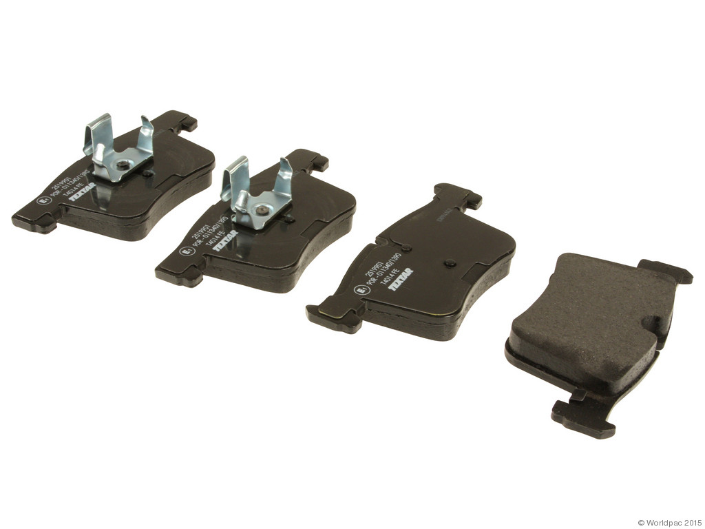 FBS - Textar OE Replacement Brake Pad Set w/ Shims (Front) - B2C W0133-1966825-TEX