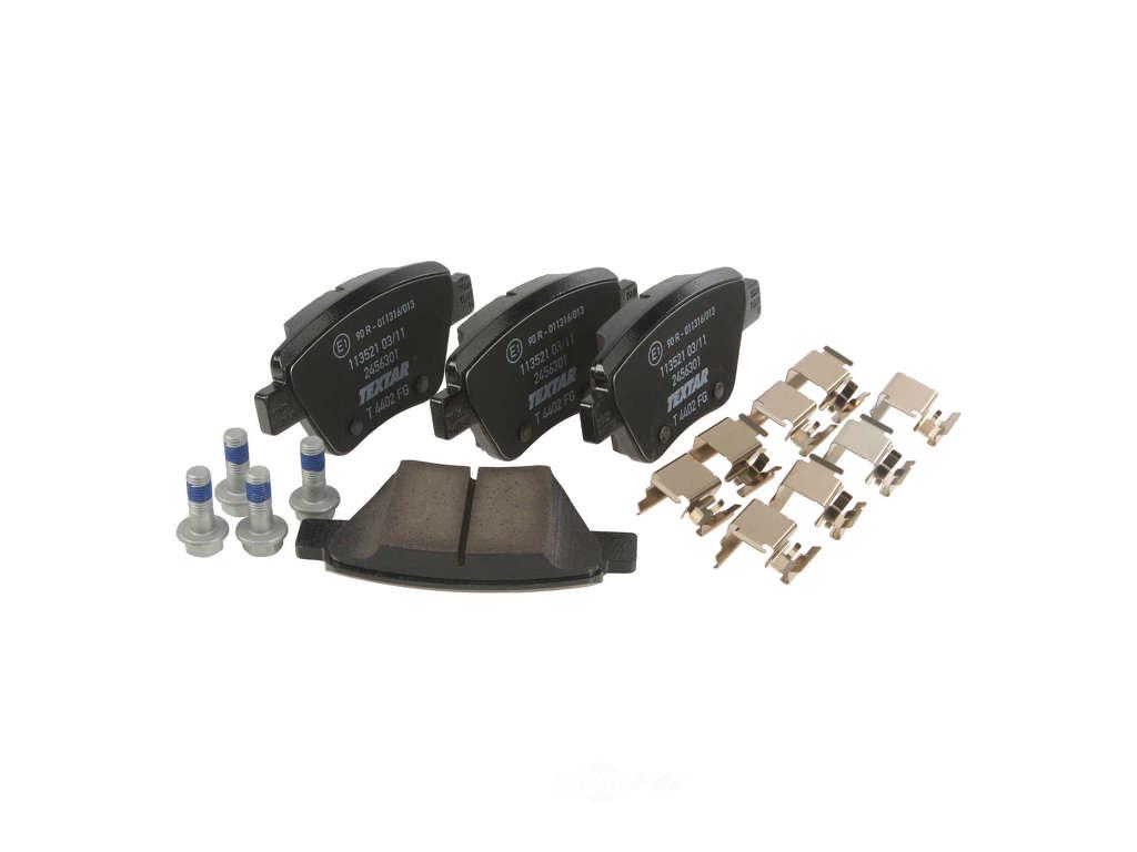 FBS - Textar OE Replacement Brake Pad Set w/ Shims (Rear) - B2C W0133-1969757-TEX