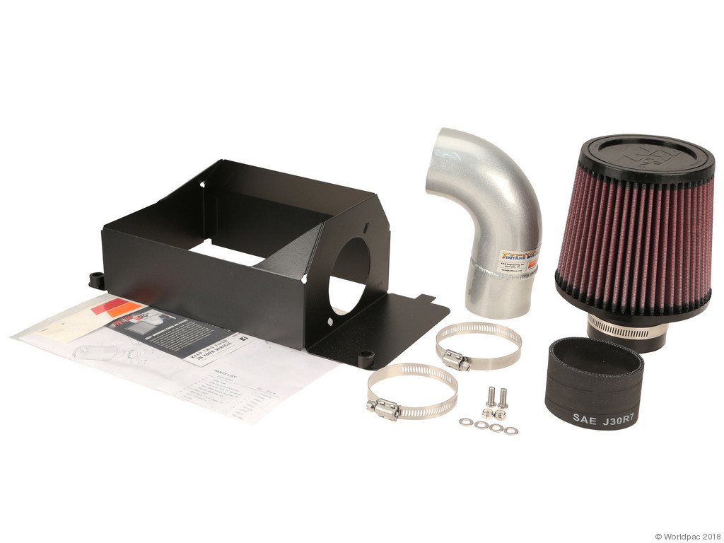 FBS - K&N 69 Series CA Cold Air Intake Air Intake Kit Typhoon / Silver - B2C W0133-1971092-KN