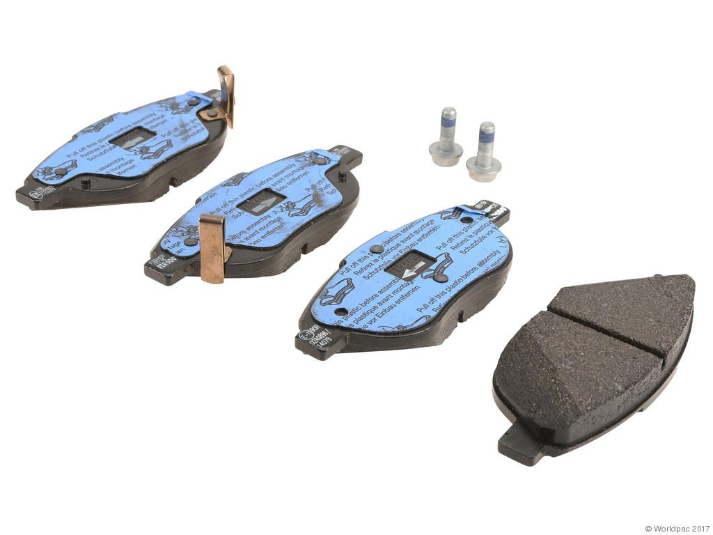 FBS - Ferodo Brake Pad Set With Shims (Front) - B2C W0133-1971510-FER