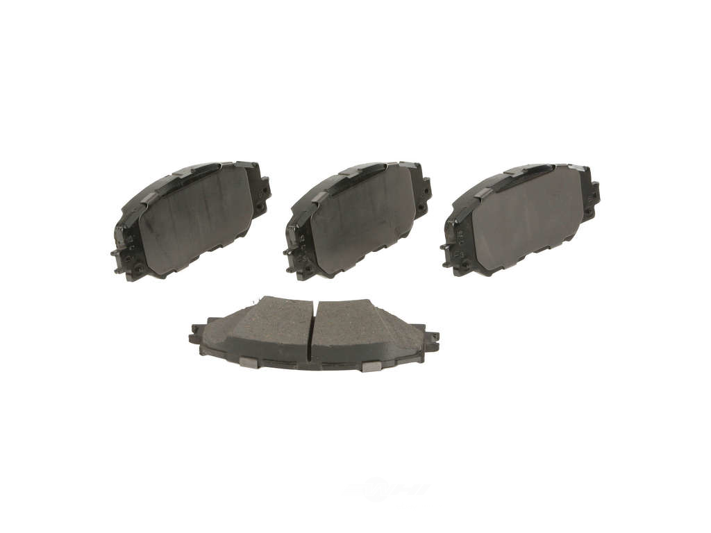 FBS - Advics Ceramic Brake Pad Set w/ Shims (Front) - B2C W0133-1972778-ADV