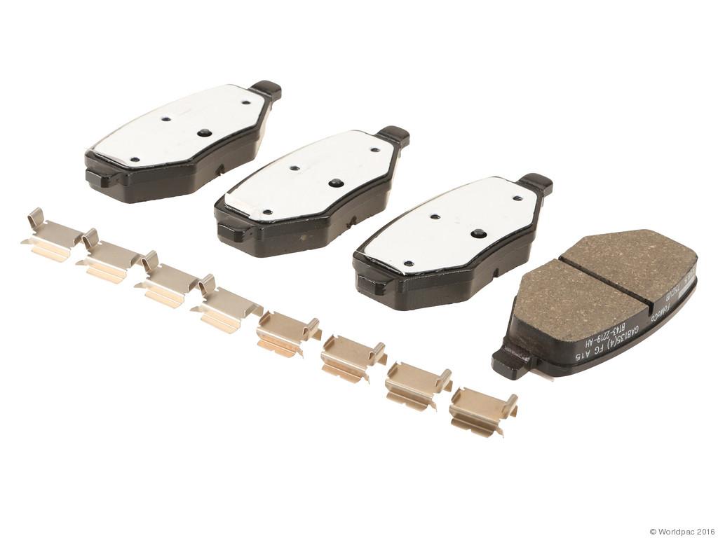 FBS - Motorcraft OE Replacement Brake Pad Set (Rear) - B2C W0133-1975624-MTR