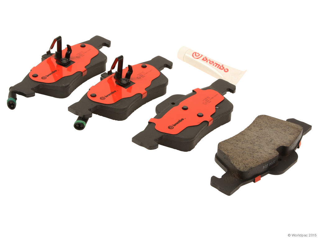 FBS - Brembo Ceramic Brake Pad Set With Shims (Rear) - B2C W0133-1976012-BRE